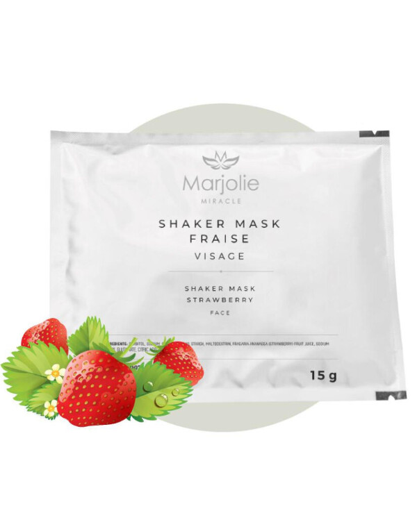 Marjolie - Strawberry shaker mask Shaker Mask Fraise Strawberry