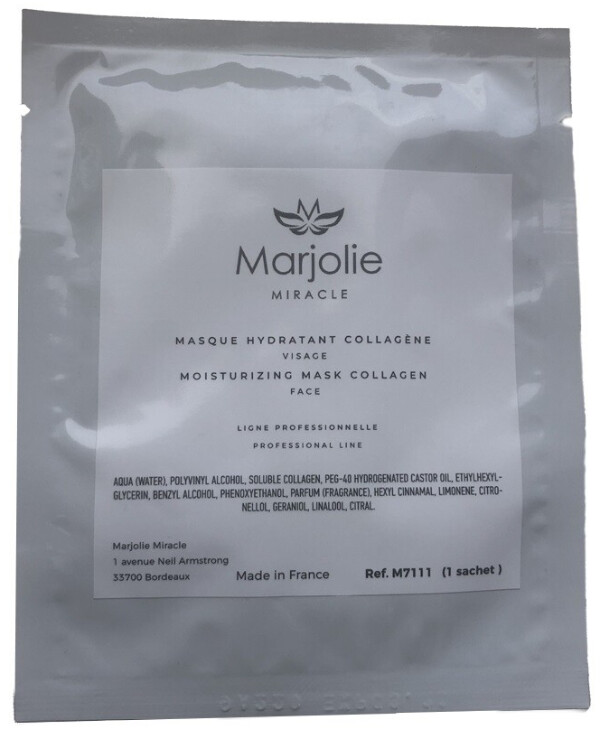 Marjolie - Collagen Anti Age Biocellulose Face Mask Moisturizing Mask Collagen