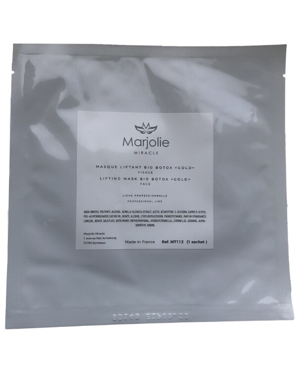Marjolie - Biocellulose lifting mask Lifting Mask Bio Botox Gold