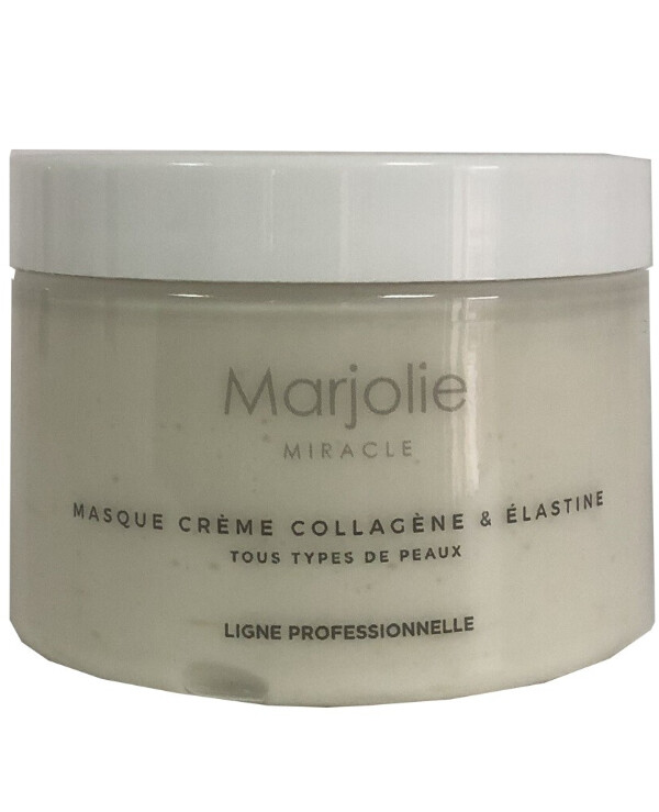 "Marjolie - Cream mask ""Collagen & Elastin"" Marjolie Masque Creme Collagene & Elastine"