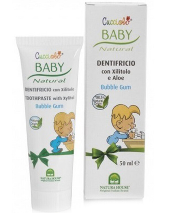 Natura House - Chewing Gum Toothpaste Baby Cucciolo Toothpaste 50ml