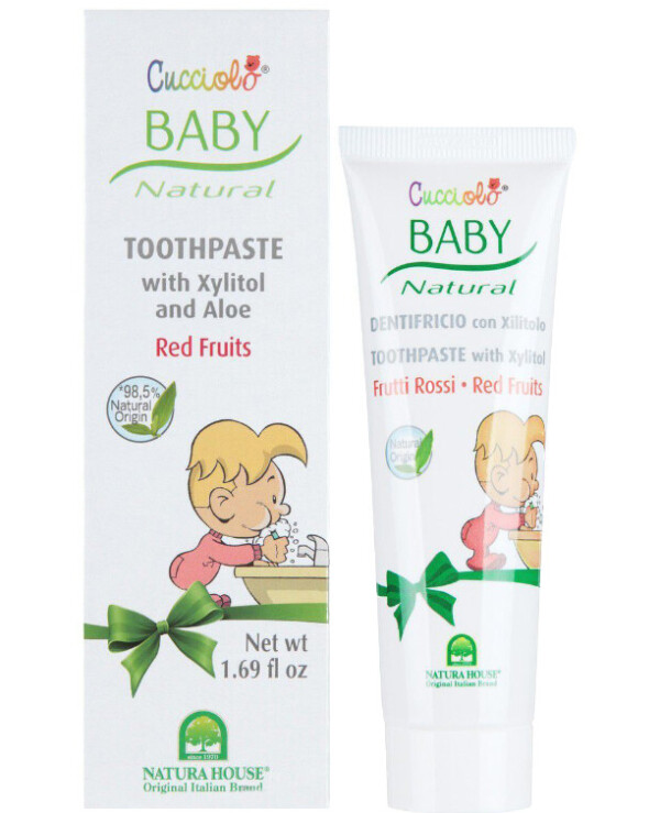 "Natura House - Toothpaste ""Red Berries"" Baby Cucciolo Toothpaste 50ml"