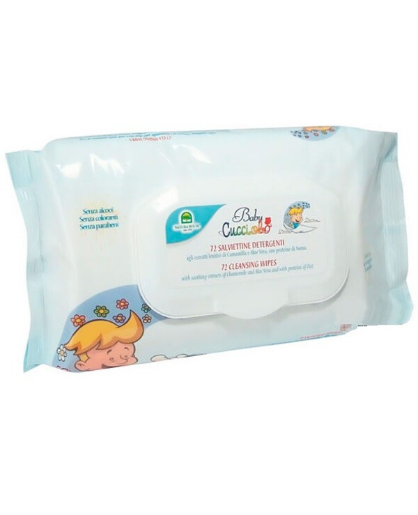 Natura House - Cleaning wet wipes Cucciolo Baby Cleansing Wipes