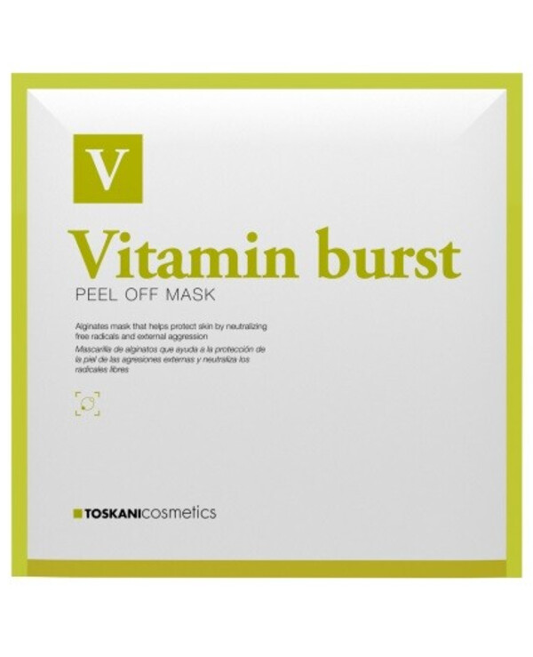 Toskani Cosmetics - Vitamin Modeling Mask Vitamin Burst Peel Off Mask