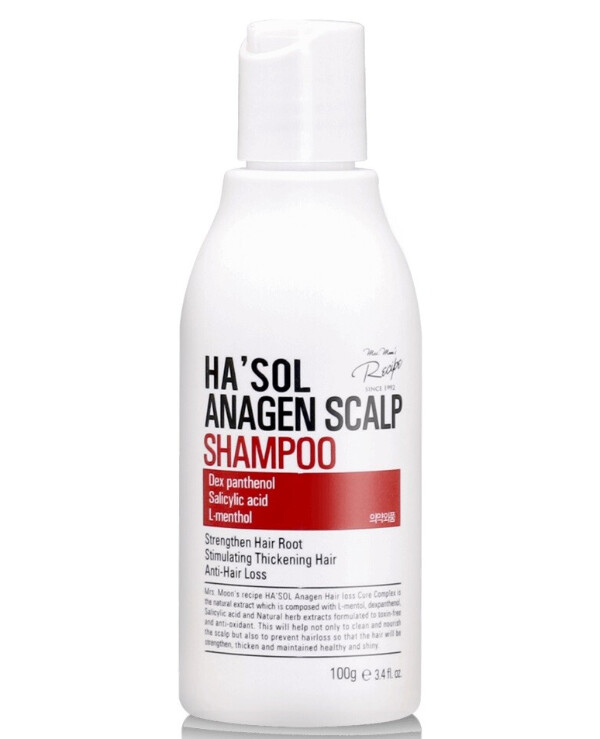 Hasol - Shampoo for thin and weak hair against hair loss Anagen Shampoo