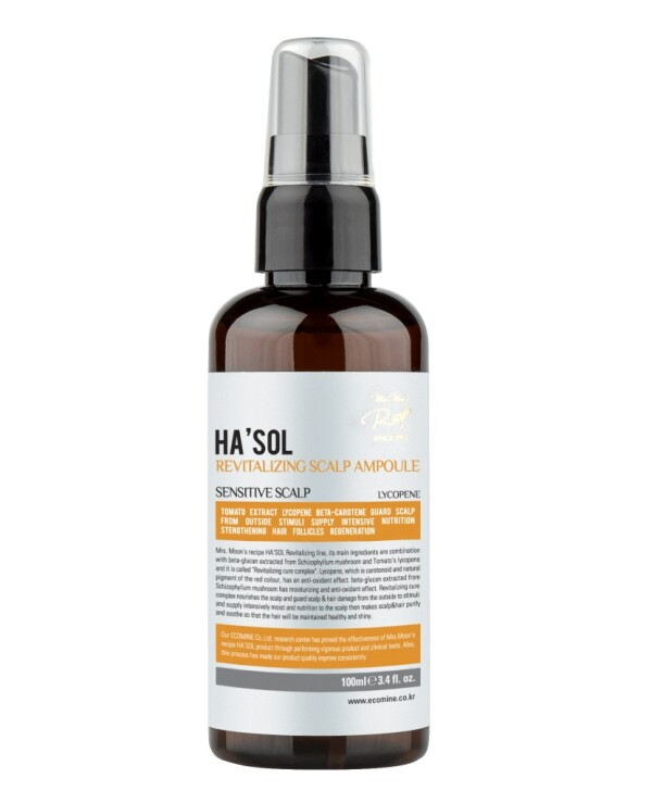 Hasol - Serum for intensive restoration of the scalp Revitalizing Scalp Ampoule 100ml