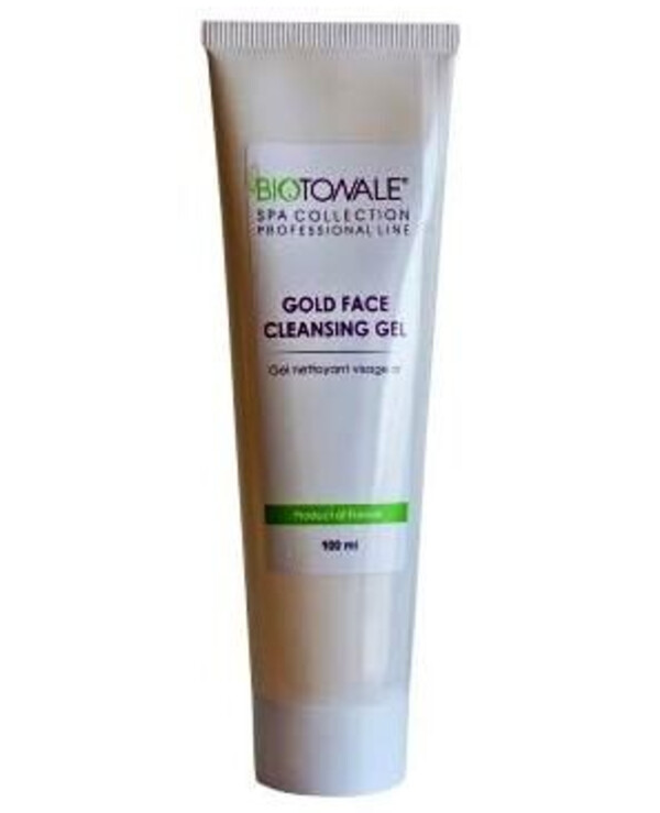 Biotonale - Bio-gold face wash gel for all skin types Gold Face Cleansing Gel With Gold 100ml