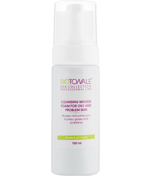 Biotonale - Cleansing mousse foam for oily and problematic skin Cleansing Mousse Foam for Oily and Problem Skin