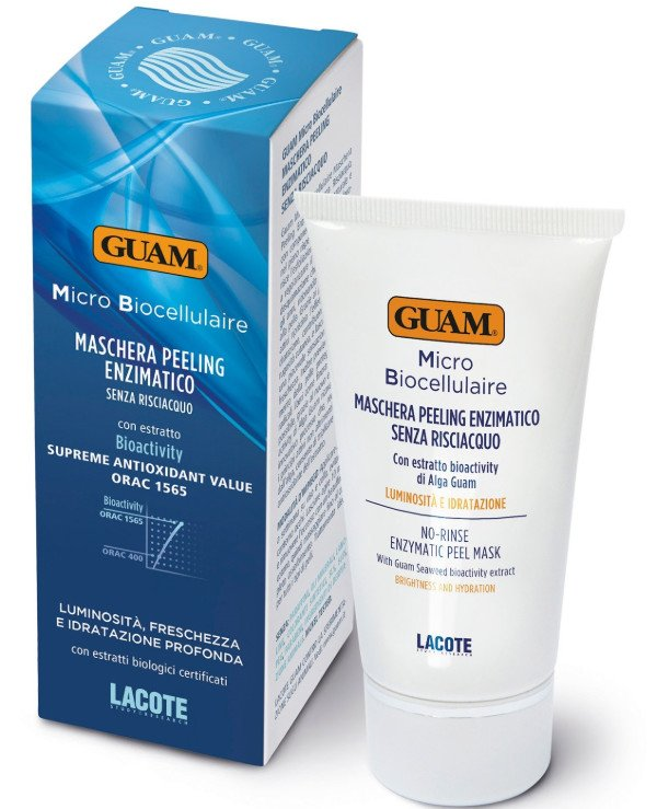 Guam - Microbiocellular cleansing enzyme facial peeling mask Maschera Peeling Enzimatico