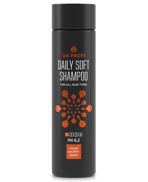 UA Profi - Shampoo for all hair types. Daily soft Daily soft shampoo 250ml