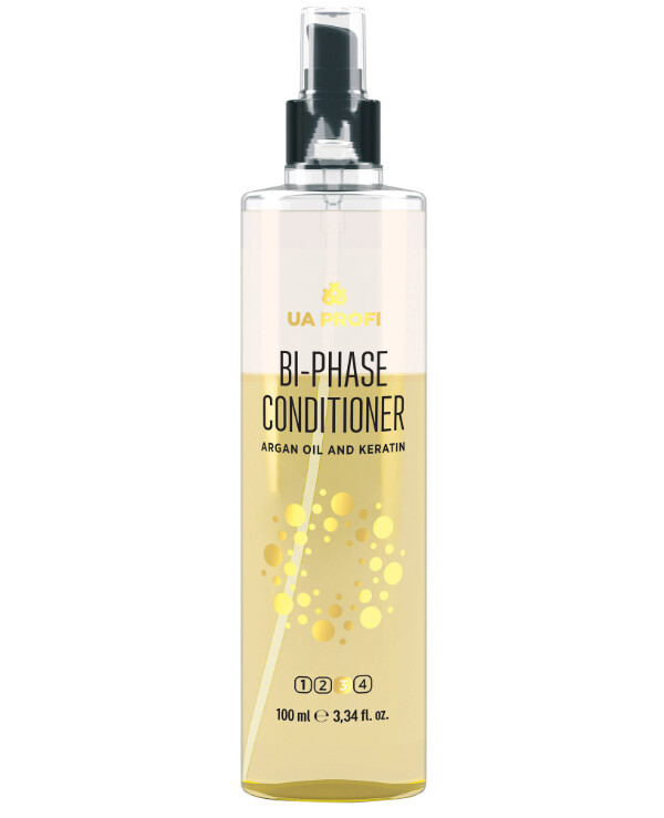 UA Profi - Two-phase conditioner Argan oil and keratin Argan Oil & Keratin Bi-phase Сonditioner 100ml
