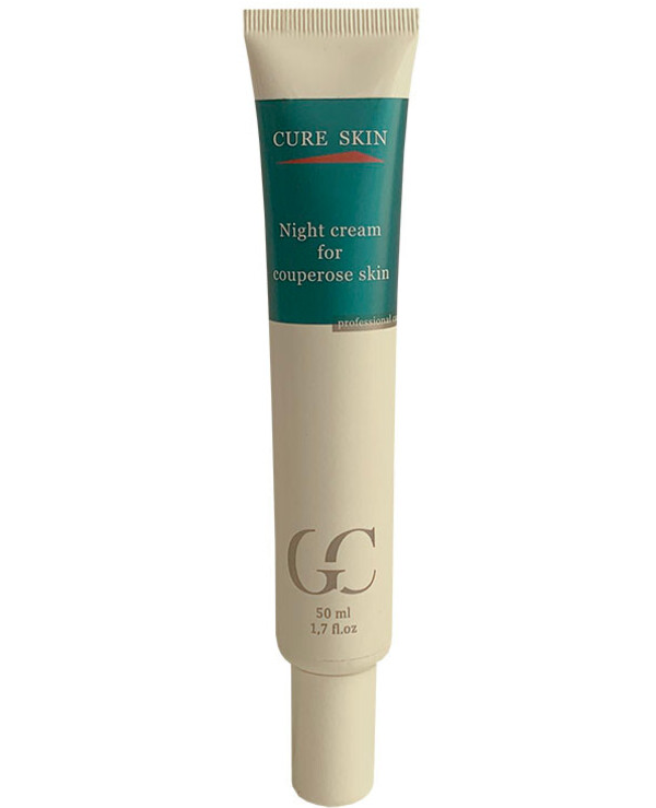 Cure Skin - Night cream for rosacea skin Night cream for Couperose skin 50ml