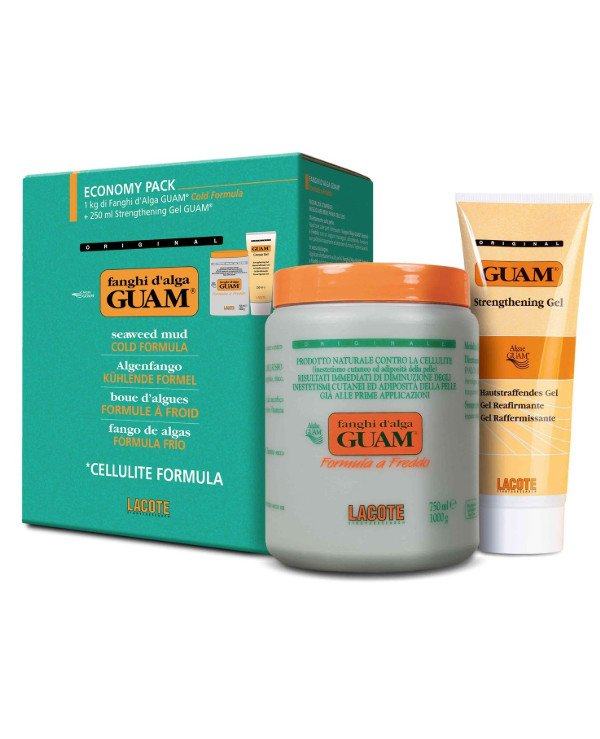 "Guam - Anti-cellulite algae mask ""cold formula"" bank + tube Formula a Freddo"