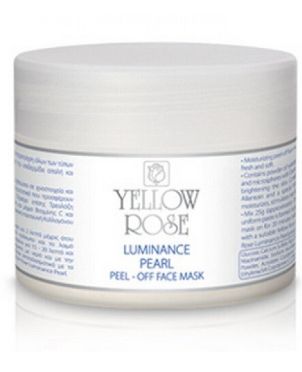 Yellow Rose - Alginate mask with pearls Luminance Pearl Peel-off Face Mask