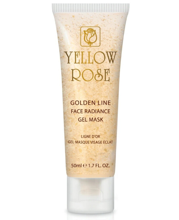 Yellow Rose - Gel mask with gold Golden Line Radiance Gel Mask
