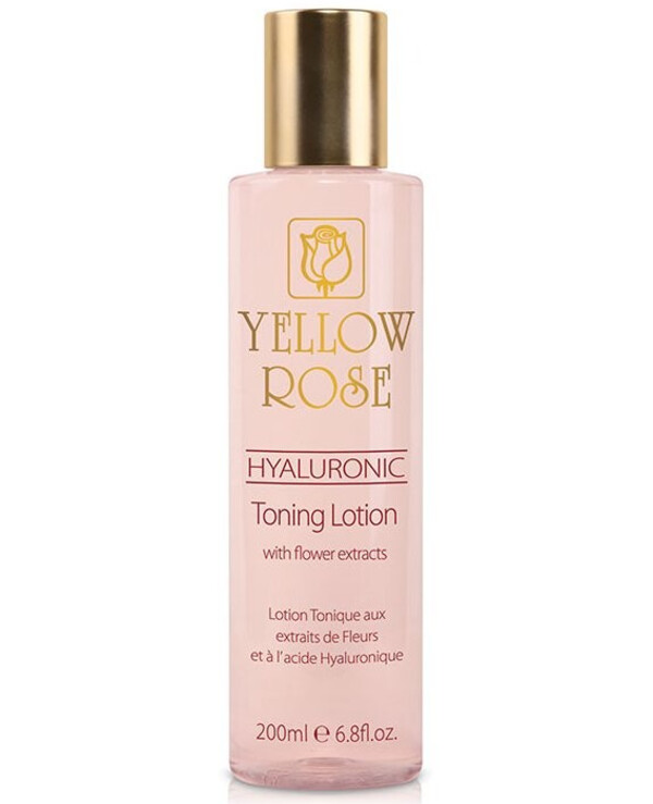 Yellow Rose - Hyaluronic Acid Tonic Lotion with Floral Extracts Hyaluronic Toning Lotion 200ml