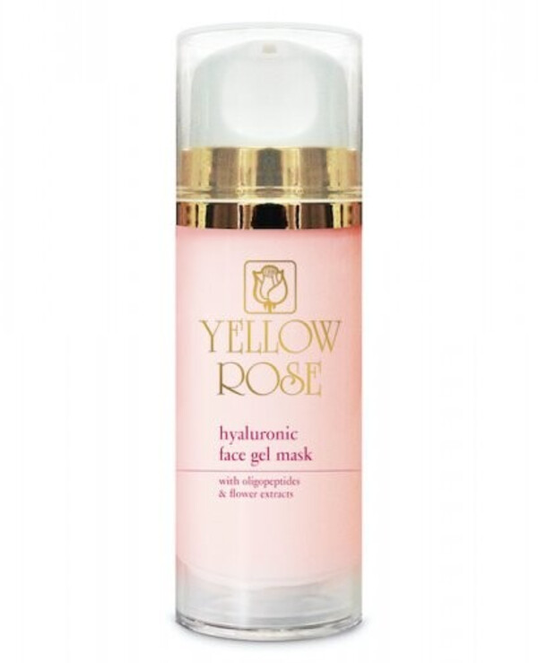 Yellow Rose - Hyaluronic Acid Face Mask Hyaluronic Face Gel Mask