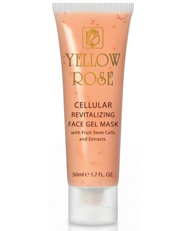 Yellow Rose - Stimulating cell gel mask with stem cells Cellular revitalizing face gel mask