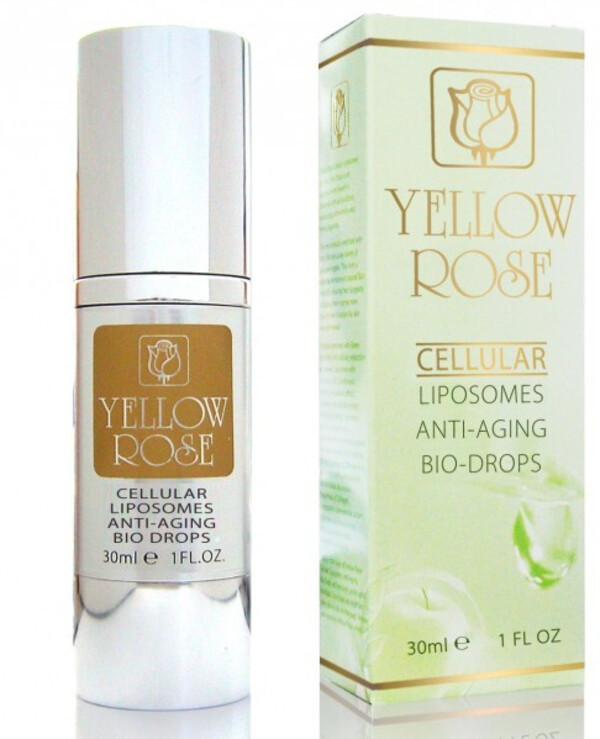 Yellow Rose - Anti-aging drops of beauty Cellular liposomes anti-aging bio-drops
