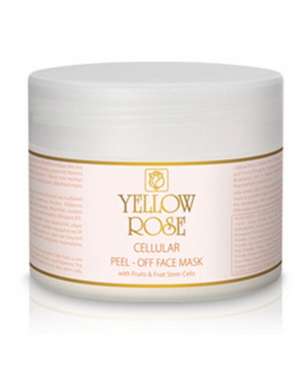 Yellow Rose - Alginate mask with stem cells and fruit extracts Cellular peel-off face mask