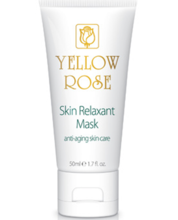 Yellow Rose - Muscle relaxant mask Skin Relaxant Mask
