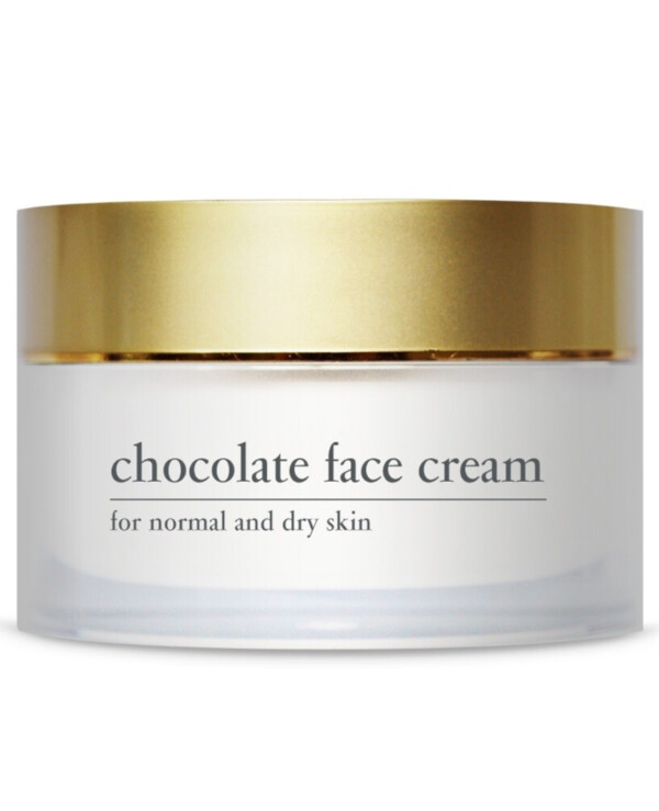 Yellow Rose - Energetic Chocolate Face Cream with Cocoa Extract Chocolate Face Cream
