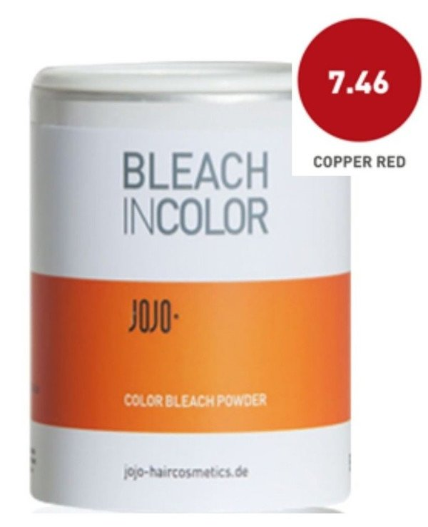 JOJO - Bleaching powder for color highlighting Copper Red