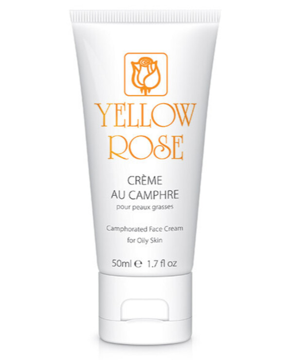 Yellow Rose - Anti-inflammatory camphor cream Crème au Camphre