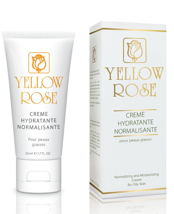 Yellow Rose - Moisturizing cream Creme Hydratante Normalisante
