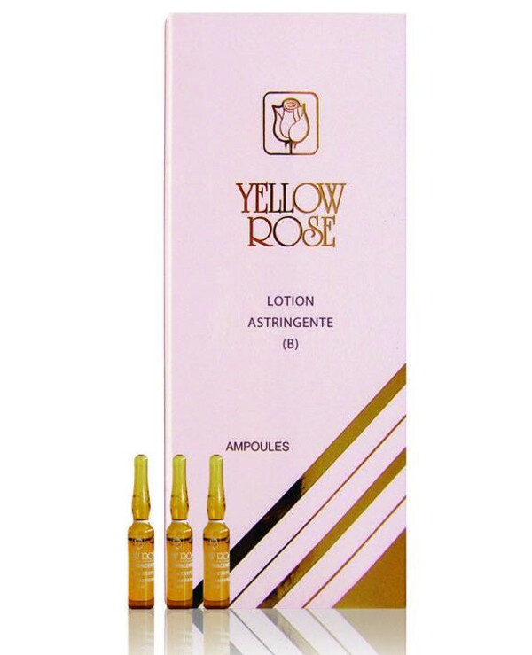 Yellow Rose - Pore-tightening lotion for face, neck and bust Lotion Astringente (B) 12 * 3ml