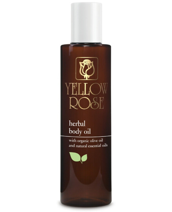 Yellow Rose - Nourishing Body Oil with Herbal Extracts Herbal Body Oil 200ml