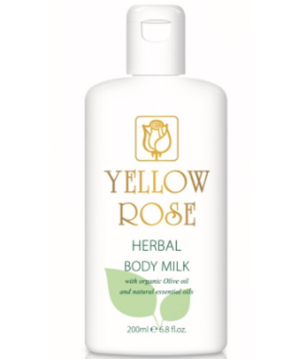 Yellow Rose - Moisturizing body milk with herbal extracts Herbal Body Milk 200ml