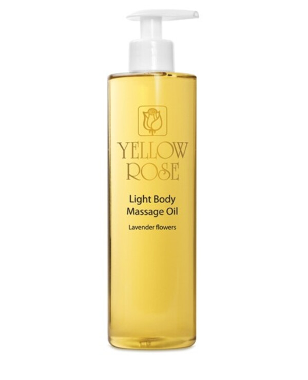 Yellow Rose - Light massage oil with lavender essential oil Light massage oil lavander 500ml