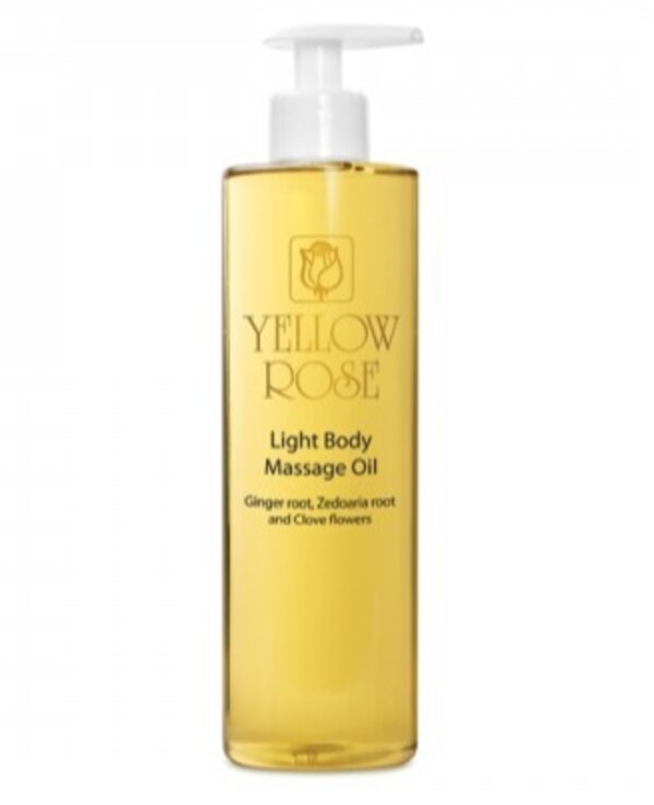 Yellow Rose - Light massage oil with ginger essential oil Light massage oil ginger 500ml