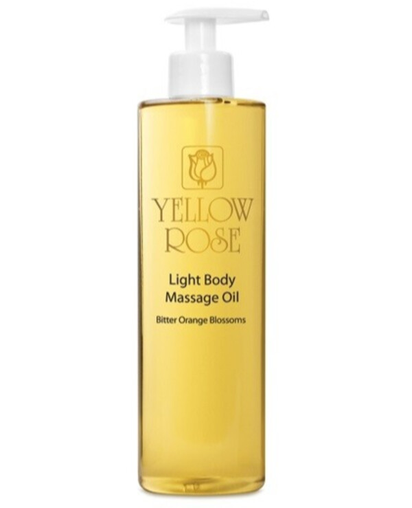 Yellow Rose - Light massage oil with orange essential oil Light massage oil bitter orange 500ml