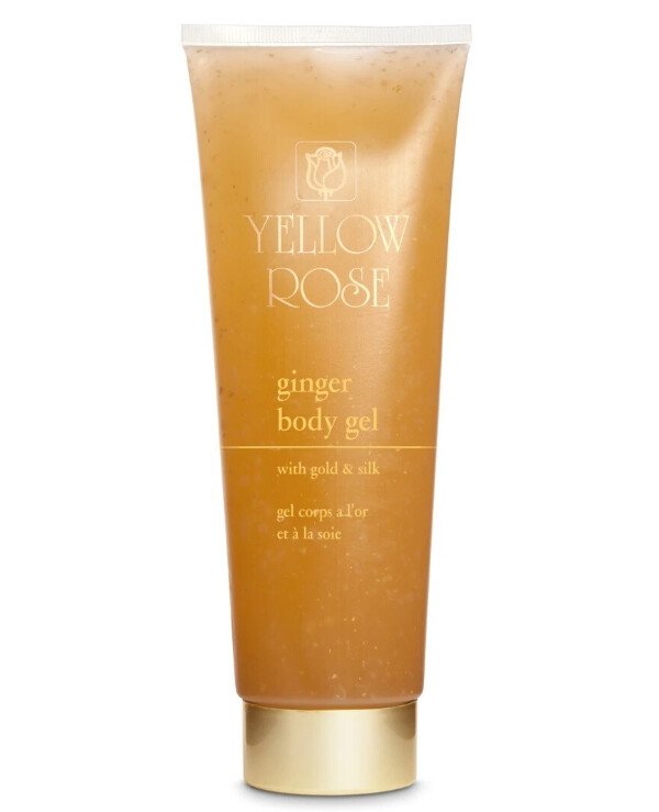 Yellow Rose - Gel body mask with ginger Ginger Body Gel Mask 500ml