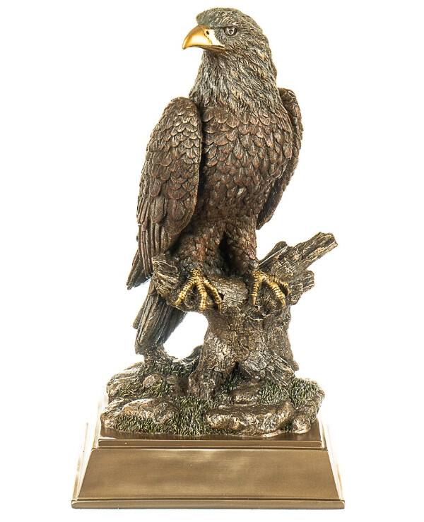 "Veronese - Figurine ""Eagle"" (42 cm)  Bronze back"
