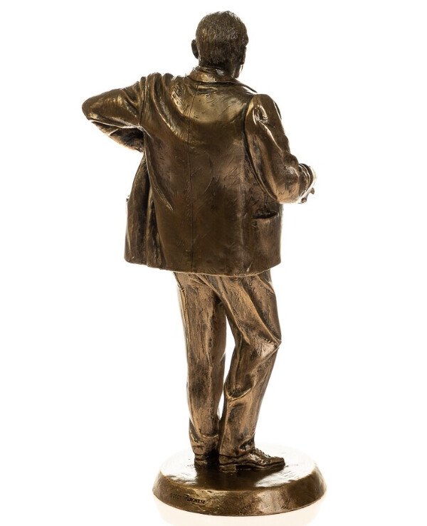 "Veronese - Figurine ""Winston Churchill"" (23 cm)  Bronze back"