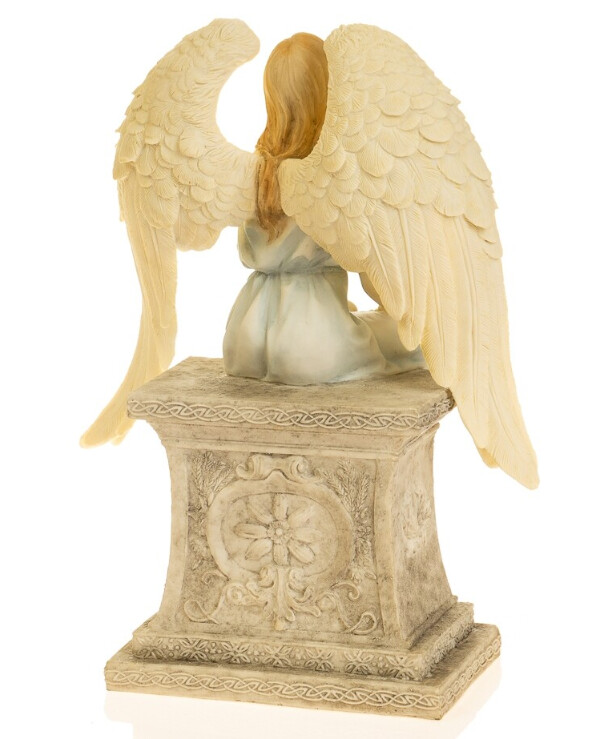 "Veronese - Figurine ""Angel"" (26 cm)  Beige back"