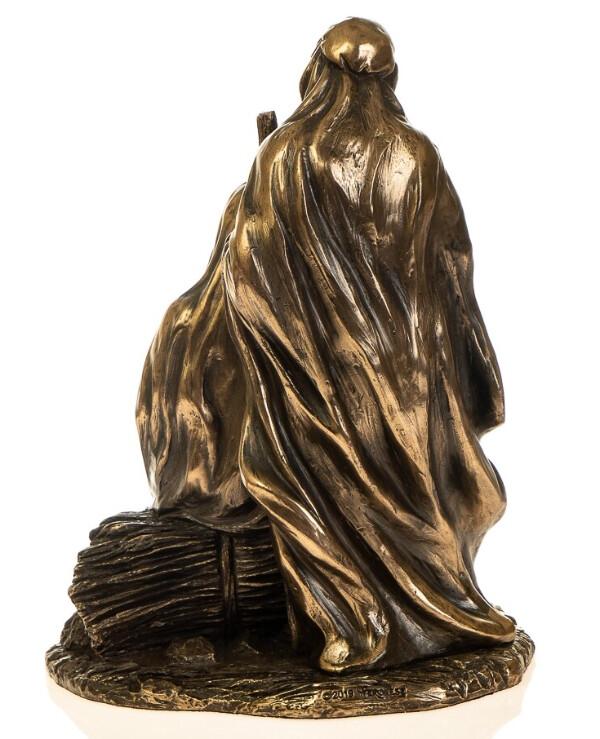 "Veronese - Figurine ""Birth of Jesus"" (18 cm)  Bronze back"