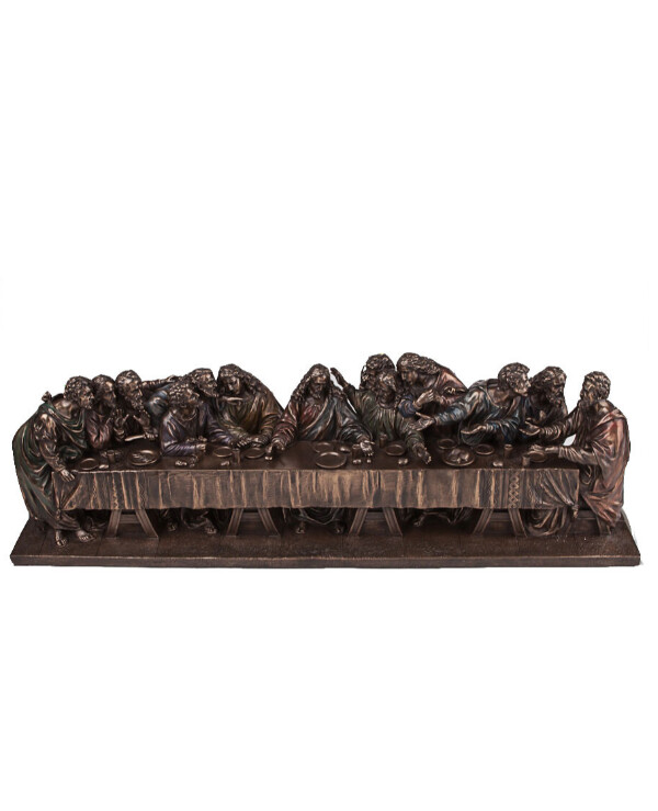"Veronese - Figurine ""The Last Supper"" (71 * 22 cm)  Bronze"