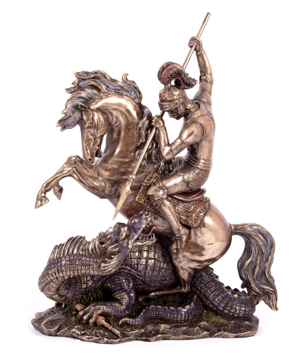 "Veronese - Figurine ""St. George the Victorious"" (32 cm)  Bronze"