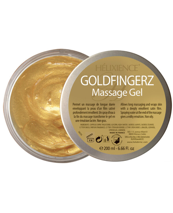 Heliabrine - Golden fingers massage gel Helixience Goldfingerz Massage Gel 200ml