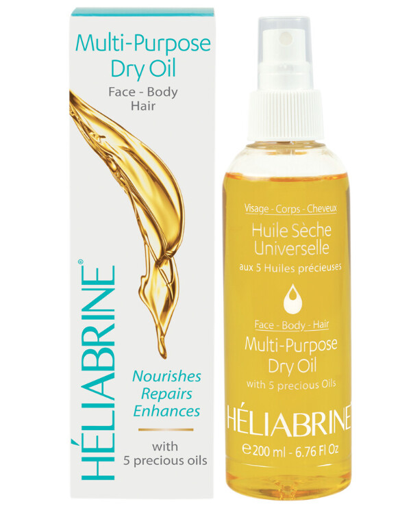 Heliabrine - Nourishing dry oil for the body, face and hair Satin Multi-purpose Dry Oil 200ml