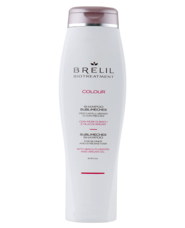 Brelil Professional - Anti-yellow shampoo for bleached and gray hair Biotreatment Colour Shampoo 250ml
