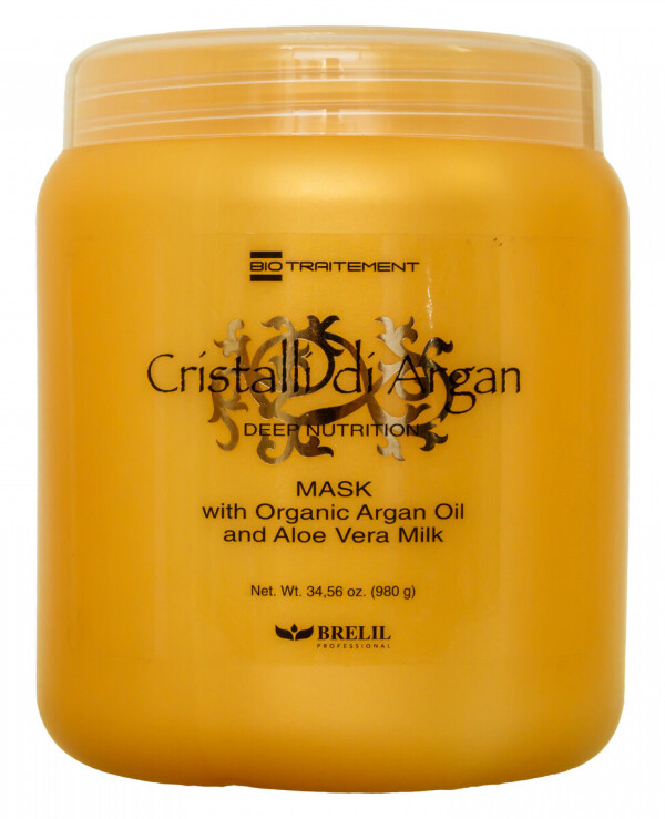Brelil Professional - Deep Recovery Mask with Argan and Aloe Oil Bio Traitement Cristalli d'Argan Mask 250ml