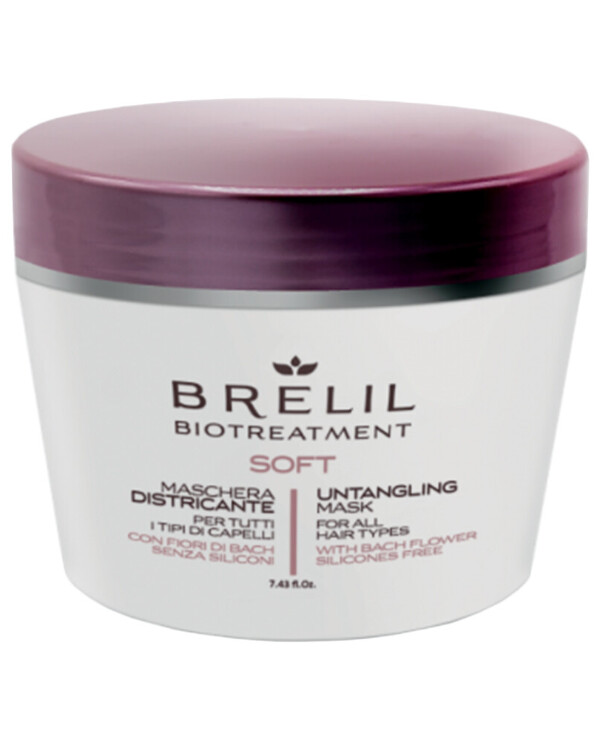 Brelil Professional - Mask for unruly hair without silicones Biotreatment Soft Mask 220ml