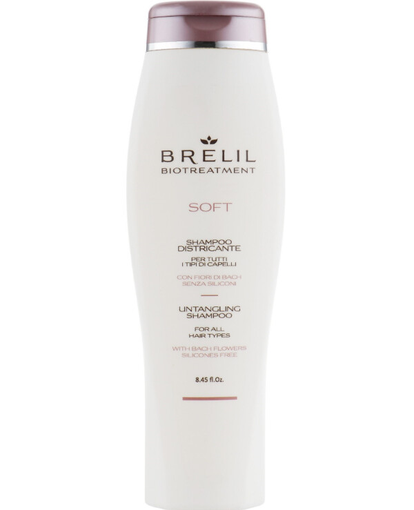 Brelil Professional - Shampoo for unmanageable hair Biotreatment Soft Shampoo 250ml