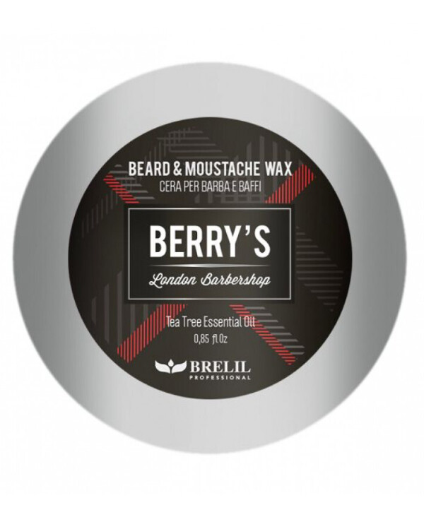 Brelil Professional - Beard styling wax Beard&Moustache Wax Berry's 25ml