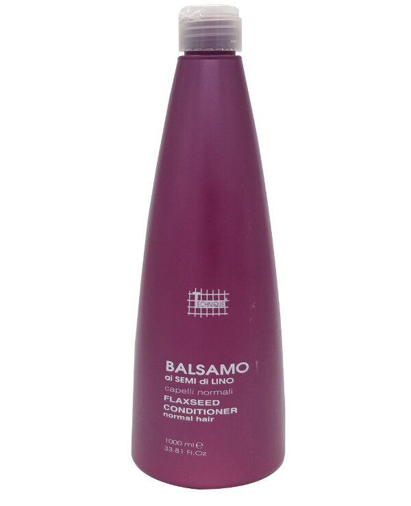 Technique Italy - Conditioning balm with flax seed extract Balsamo ai Semi di Lino 1000ml